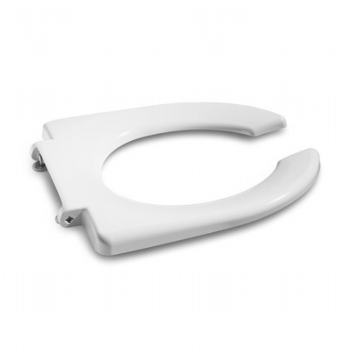 Roca Access Open Ring Toilet Seat Without Cover - White